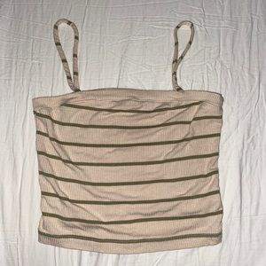 Urban Outfitters Striped Square Top